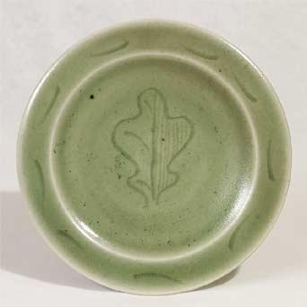 Leach porcelain plate