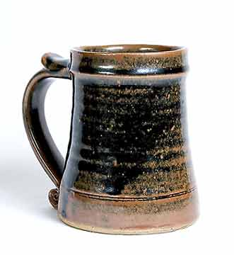 Leach tenmoku tankard