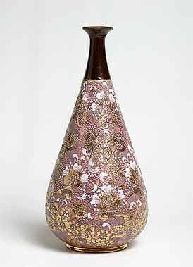Ornate Doulton vase