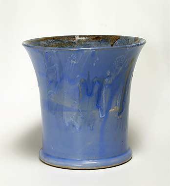 Blue Salopian vase