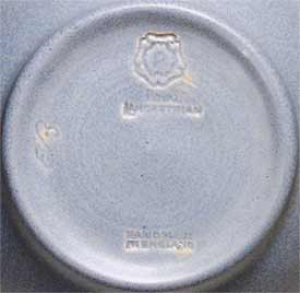Pilkington Lancastrian bowl (marks)