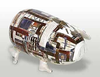 Modern Sussex pig