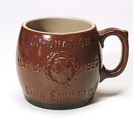 Edward VIII coronation mug