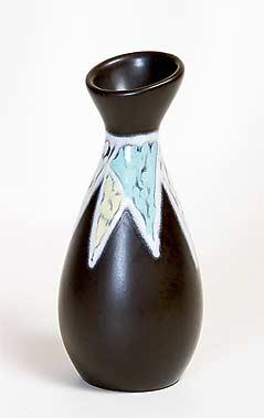 Black Søholm vase