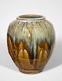 Dodd dimpled vase