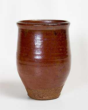 Old Aylesford stoneware vase