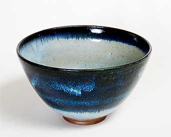 Blue/grey studio bowl