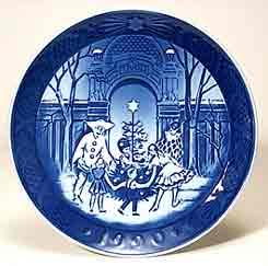 Copenhagen 1990 plate
