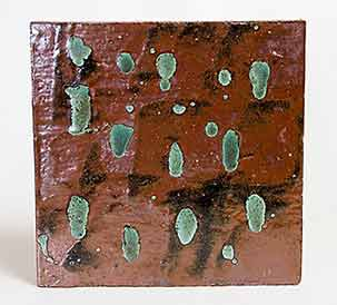 Bill Marshall stoneware tile