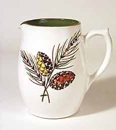 Langley leaf design jug