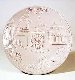 Oklahoma plate