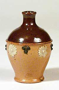 Miniature Doulton bottle