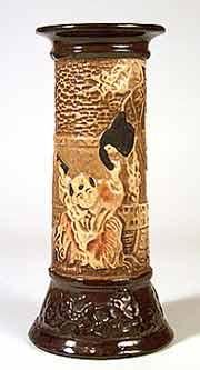 Bretby oriental vase