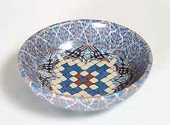 Blue Gerbino dish