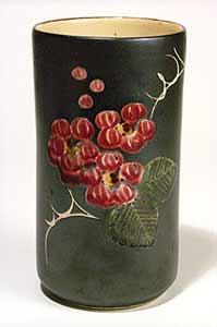 Red Marazion vase