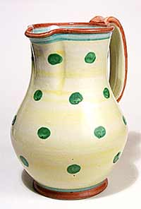 Denby spotty jug