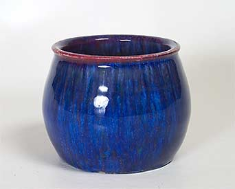 Electric blue Langley pot