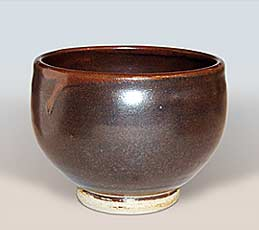 Tenmoku tea bowl