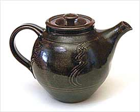 Tenmoku teapot