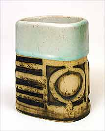 Short Bob Dawe vase