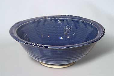 Blue St Agnes bowl