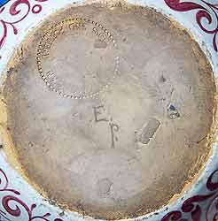 De Morgan three-handled vase (base)