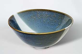 Blue and white Brooks bowl
