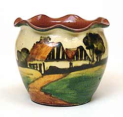 Crown Dorset vase