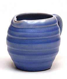 Blue Brannam jug