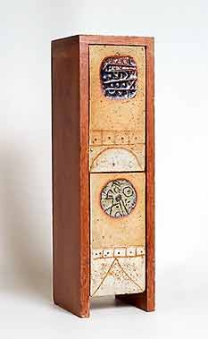 Wood-clad Rooke lamp