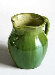 Green Ewenny jug