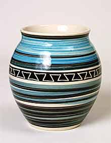 Blue Totland vase