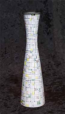 Rye Pottery mosaic vase