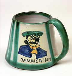 Tintagel pirate mug