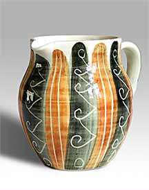 Brown and black Jo jug