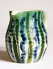 Green and blue Jo jug