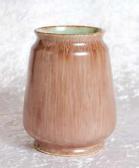 C D Nowell vase