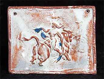 Reychan bull plaque