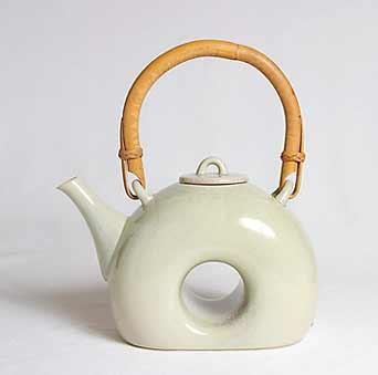 David White teapot
