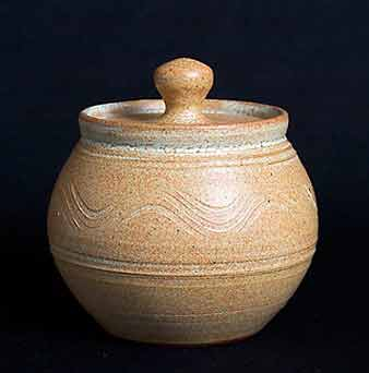 John Solly lidded jar