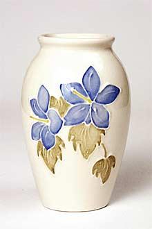 Moorcroft Campanula vase