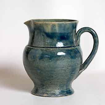Blue Farnham jug