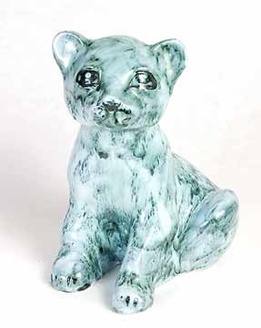 David Sharp lion cub money box