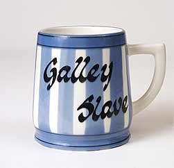 Galley slave mug