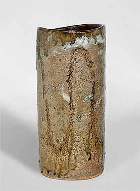 Tall Janet Leach vase
