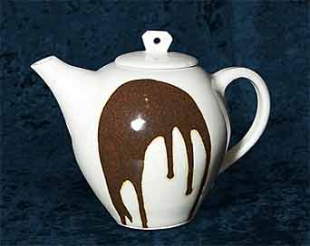 Alan Brough porcelain teapot