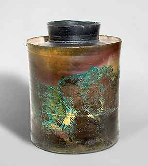 John Bedding lidded jar