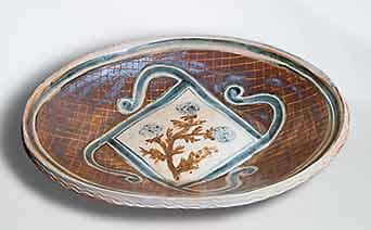 Seth Cardew oval dish