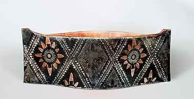 John Bedding canoe pot