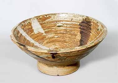 Round Janet Leach bowl